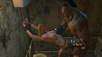 Monster sexy video gameplay...