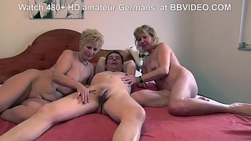 Nice old loves and threesome...