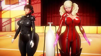 Ann And Makoto Hourglass Inflation
