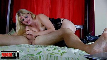French Blonde amateur slut fucked in pussy and ass and fisted on webcam