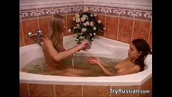 thumb Young Russian Girls In The Bath Tub