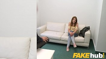 Fake Agent Kizzy Sixx loves getting fucked doggystyle by casting guy