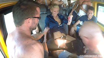 Download video sex hot Ultimate Hardcore Orgy in Czech BANG Bus online high quality