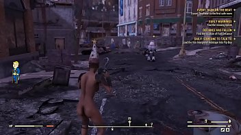 Fallout76 nude gameplay...