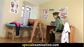 thumb Rude Army Gyno Exam For Sweet Young Babe