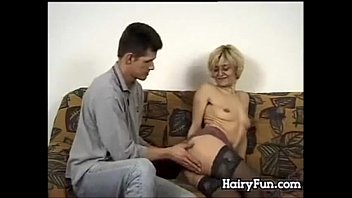 xxarxx Hairy European Granny On A Younger Dick