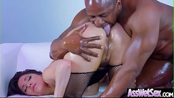 Lovely Girl (Aleksa Nicole) With Big Ass Get Oiled And Hardcore Anal Sex mov-03