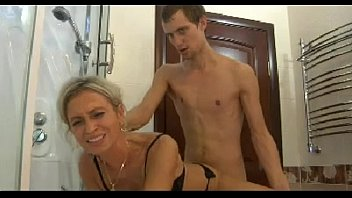 xxarxx Hot mom n150 blonde russian mature milf and a young man