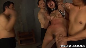 Kana Sato was screaming so loud during a BDSM session 58 sec