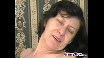 Horny Granny Riding On Some Hard Cock