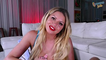 Blonde Adela Fucks Hard With A Gifted Man