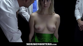 Mormon Sister Cadence Lux Takes Seed From Three Church Men To See Who The Father Will Be