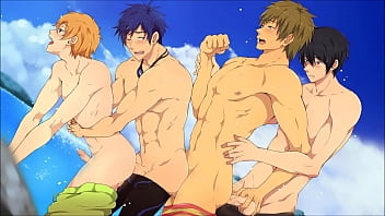 club gay porn Iwatobi swim