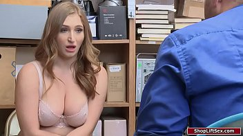 Busty Shoplifter Assfucked By Officer