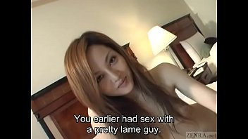 Subtitles unfaithful young and hairy Japanese wife fingered 5 min