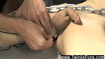 Cock roxy red wakes up tied to a...