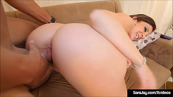 Thick Milf Sara Jay Gets Her Mature Muff Stuffed By A Big Hard Cock!