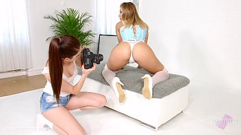 Lesbian Scene With Rebecca Volpetti And Vyvan Hill By Sapphix