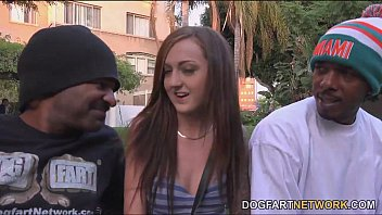 Kendra Cole In Her First Ever Interracial Threesome Scene