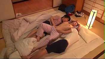 XVIDEO Beautiful japanese aunt gets fucked by two nephews