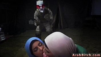 thumb Big Bitch Arab And Piss Sneaking In The Base
