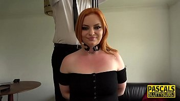 Real bound redheaded sub
