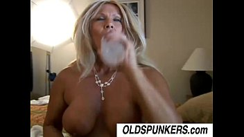 Roxy is a horny cougar who loves to fuck younge...