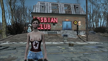 Fallout 4 shorts and sexy top fashion...