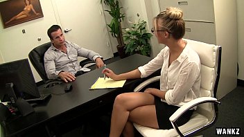 Cute Blonde Office Bitch Hailey Fucked Like a Boss