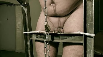 Dominatrix Mistress April - Interrogation in prison cell45