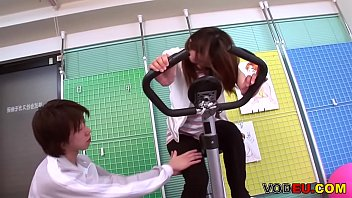 VODEU - Petite Asian babe gets fucked by the trainer