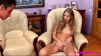 Young cute Anjelica gets fucked