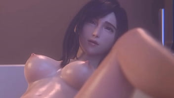 FF7 Remake Tifa Anal Fucking in the Bath (HentaiSpark.com)