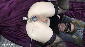 Blonde Teen Rimming A Guy And Gets Ass Fucked-pissing Into Her Ass With Speculum
