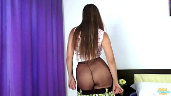Cuties with slim legs and hot body in tights - XVIDEOS.COM