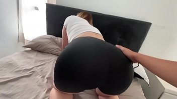 I a. of my hot stepmom while she was stuck in her bed (creampie)