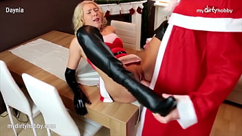 MyDirtyHobby - Holiday surprise anal for busty blonde
