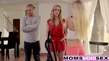 Cum Craving Teen Alex Grey Fucks Stepmom &Brother