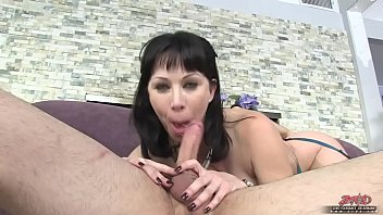 Stunning mom with big ass banged in bedroom