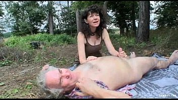 women having outdoors Mature sex