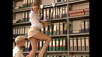 Blonde gets fucked hard in the library (Hot Girls Are Here, Try It: FuckNo‍w1‍8.com)