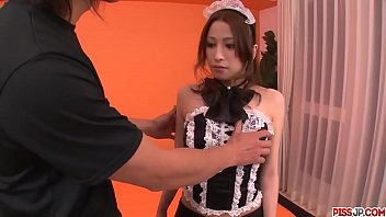 Tsubasa Aihara Sensual Maid Enjoys Dick In Her Tiny Holes - More At Pissjp.com