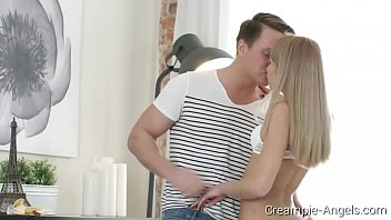 Creampie-Angels.com - Ketrin Tequila - Blonde & Her BF