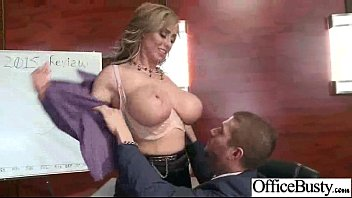 (eva notty) Busty Hot Office Slut Girl Love Hardcore Intercorse clip-12
