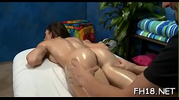 Clean shaved pink snatch of breathtaking girl is drilled by shlong