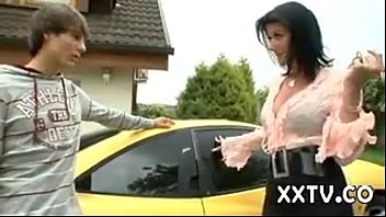 MILF is selling a car | Video Make Love