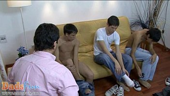 Video sex new Twink models show their fuck skills to a gay daddy fastest