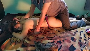 My sister pray for an erotic massage and i give her the best massage of her life part 1