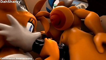 Rouge and tails 3d animation...