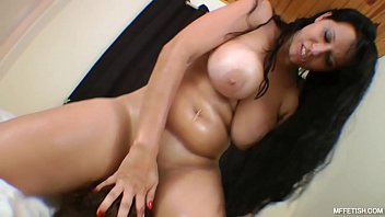Brutal queening with busty goddess bouncing boobs and...
